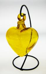 Yellow Heart Medium with Rack